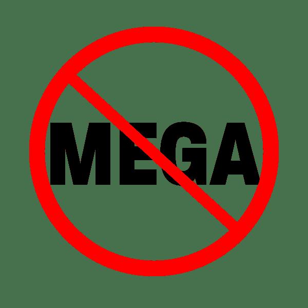 No Mega Logo